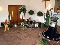 Bröckel, Bestattungsinstitut, Schacht Urnentrauerfeier