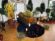 neuer Friedhof Wathlingen, Bestattung, Sarg