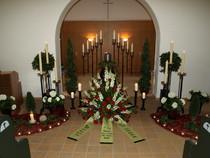 Urne, Trauerfeier, Großhelen Friedhof