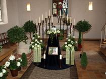 Urnentrauerfeier, Schacht Bestattung, Trauerfeier Langlingen